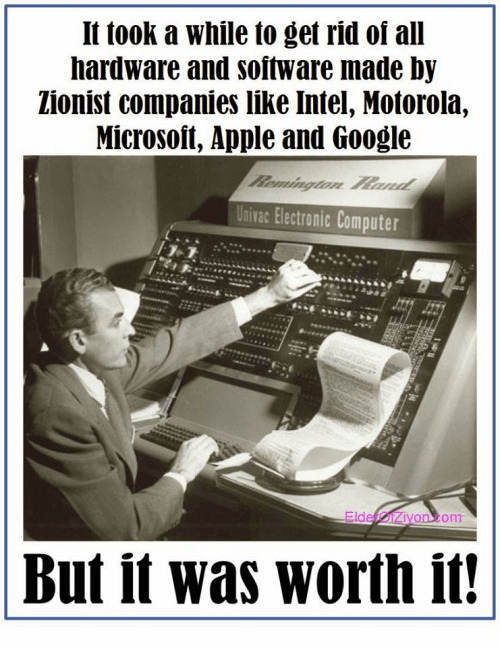 Boycotting Israeli technology 3
