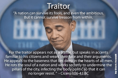 Cicero on fact that nation cannot survive traitor