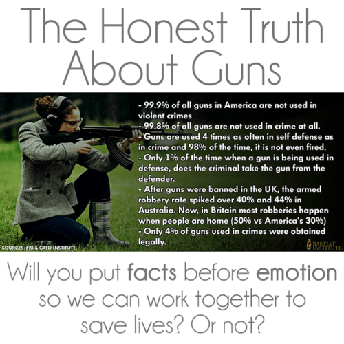Honest truths about guns