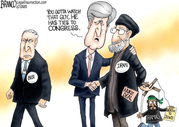 Netanyahu Kerry Congress Iran