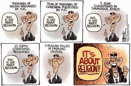 Obama It's about religion