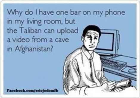Cell phones and Taliban