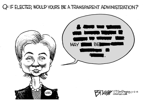Hillary transparency