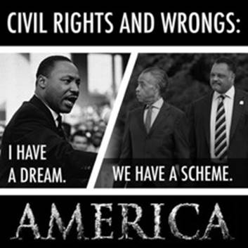 I have a dream versus we have a scheme