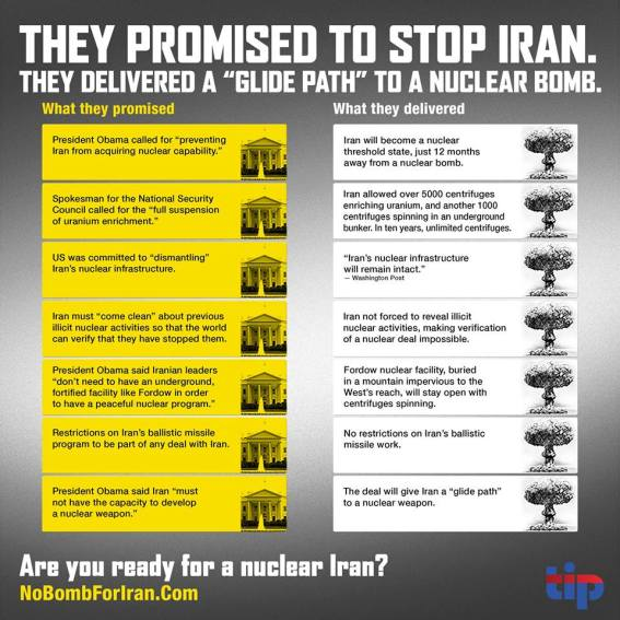 Obama will not stop the nuclear bomb