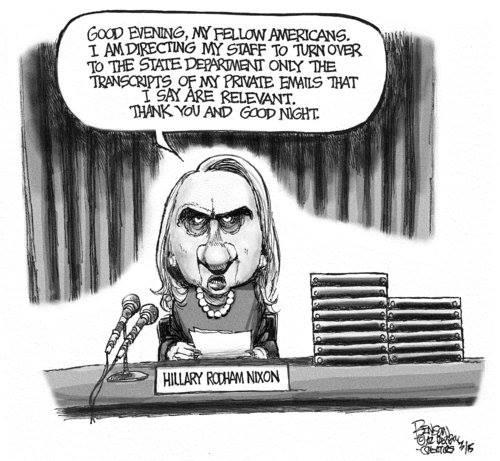 Hillary worse than Nixon