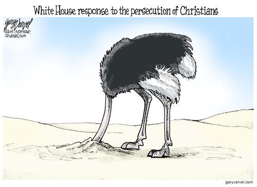 White House Christian persecution