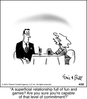 superficial relationship