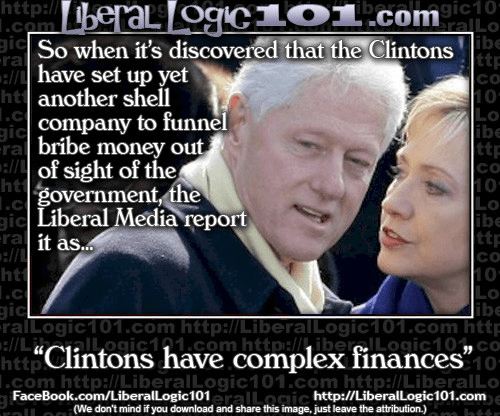 Clintons complex finances