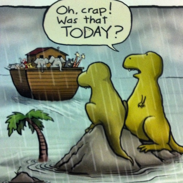 Dinosaurs and the ark
