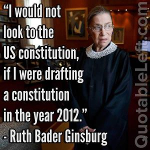 Ginsburg on the US Constitution
