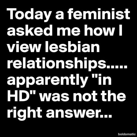 Lesbian relationships and HD