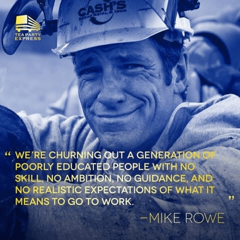 Mike Rowe on America's young