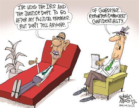 Obama Reporter Democrat Confidentiality