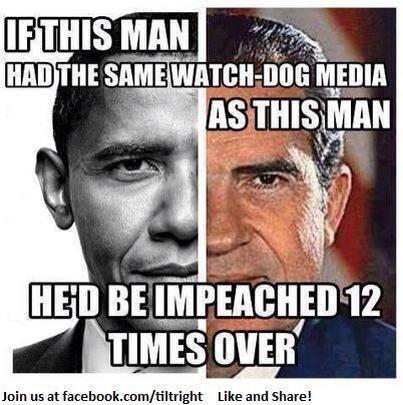 Obama and Nixon comparison