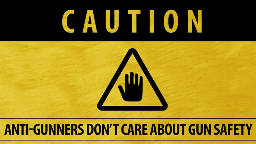 Anti-gunners and no gun safety
