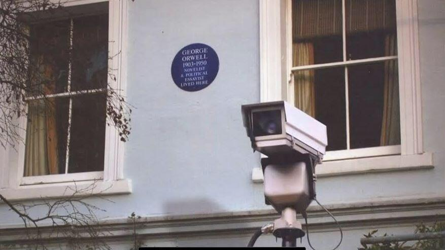 George Orwell house big brother