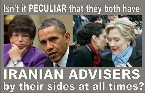 Obama and Hillary and their advisers