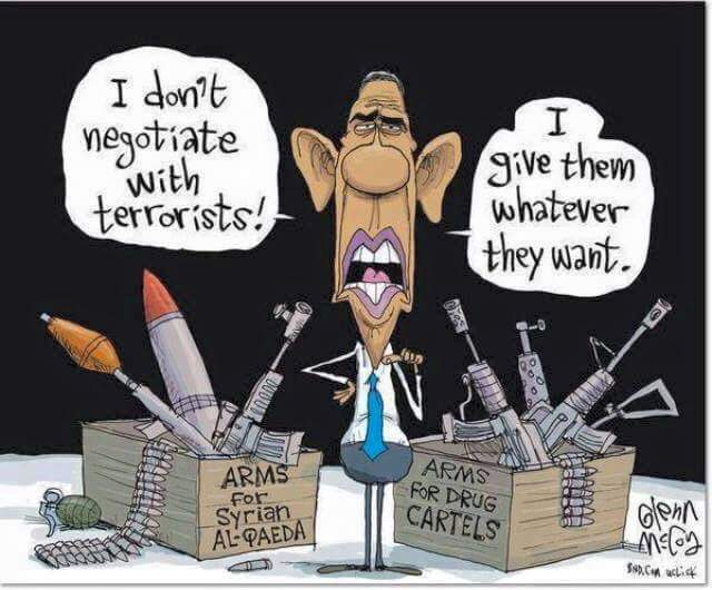 Obama gives terrorists what they want