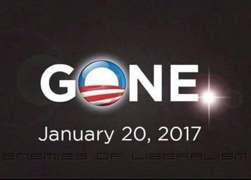 Obama gone
