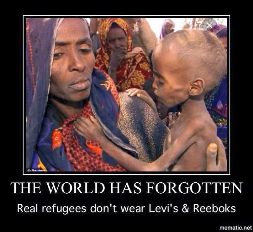 Real refugees