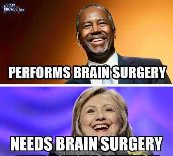 Ben Carson v Hillary