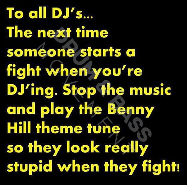 Benny Hill music]