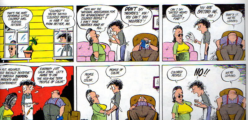 Bloom County Colored People