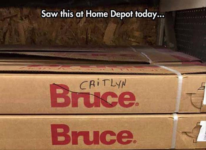 Home Depot Bruce Caitlyn