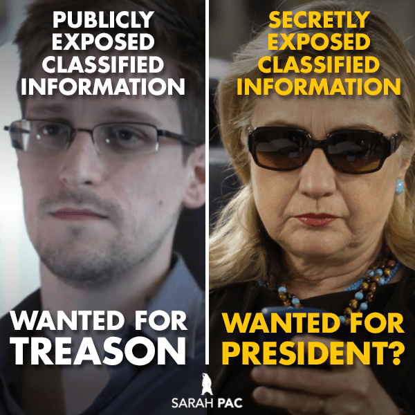 Snowden v Hillary