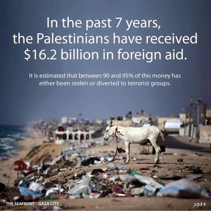 What happened to Palestinian foreign aid