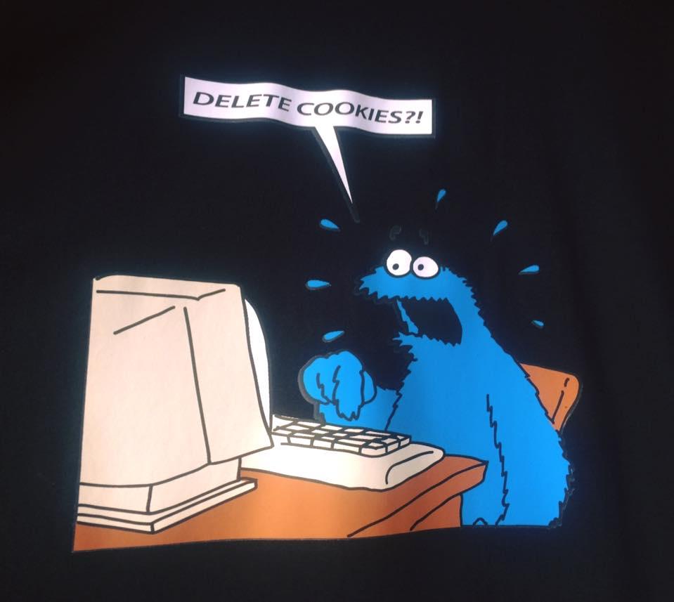 Delete cookies monster
