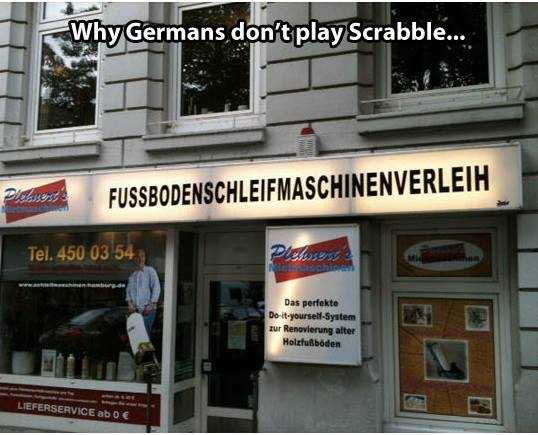 Germans and Scrabble 2