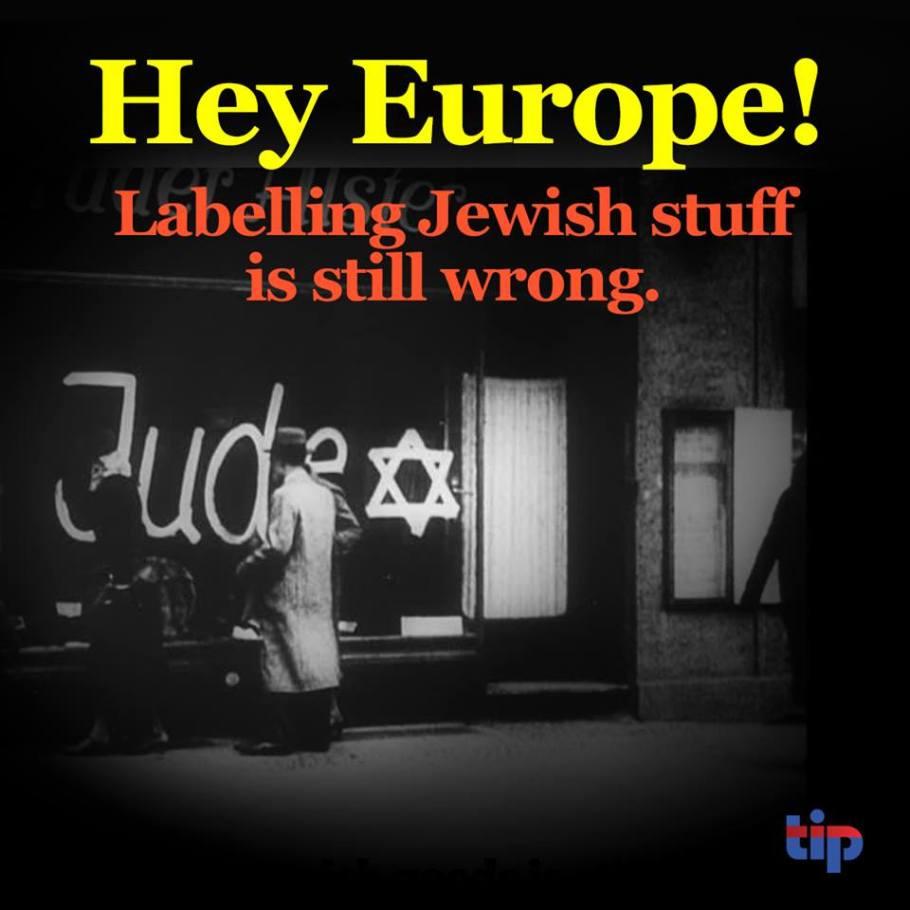 Labelling Jewish stuff wrong