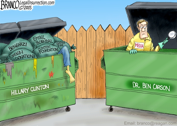 Media roots through the garbage