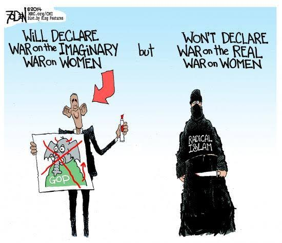 Obama and imaginary war on women