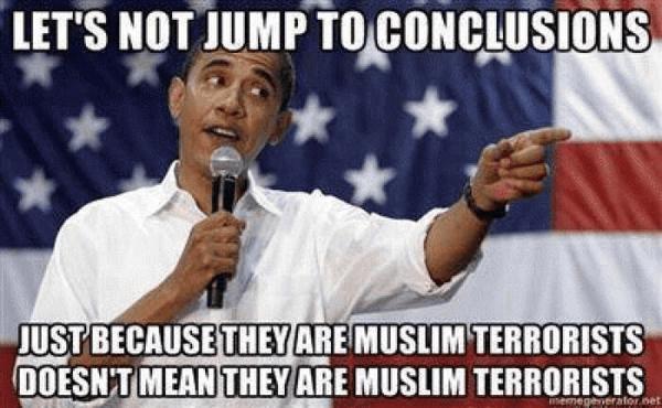 Obama on Muslim terrorists