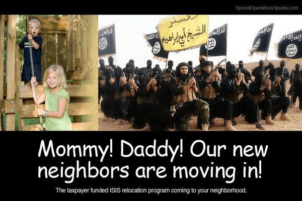 Our new neighbors radical Islam