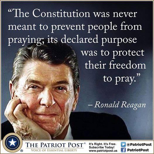 Reagan on religious freedom