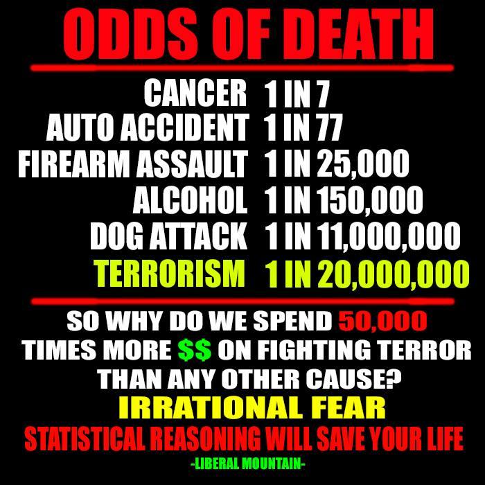 Statistics against ISIS