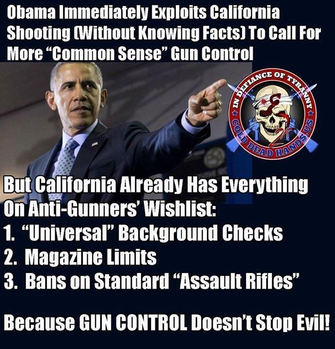 California's strict gun control didn't work