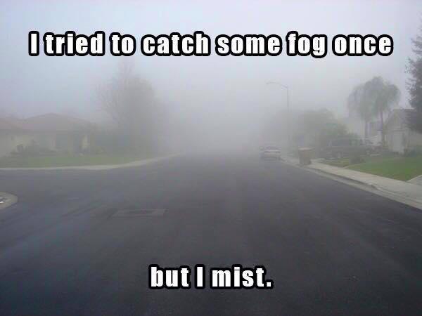 Catch fog mist