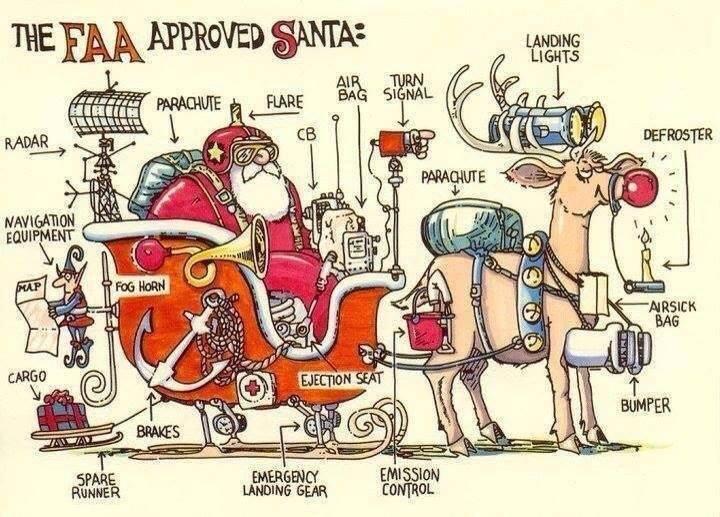 FAA approved Santa