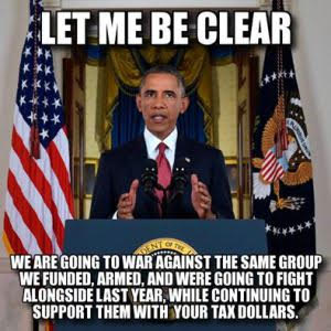 Obama's ISIS strategy clearly spelled out
