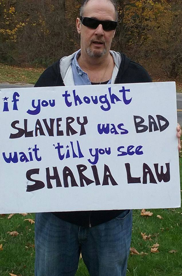 Sharia law worse than slavery