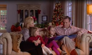 Ted Cruz christmas video