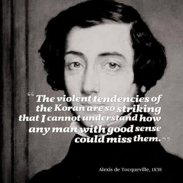 de Tocqueville on the Koran