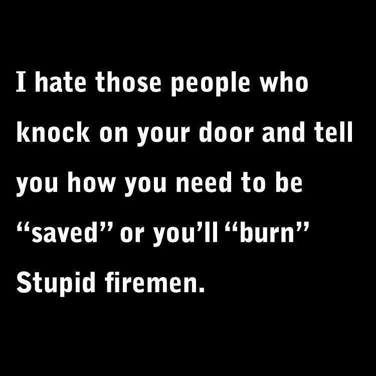 Firemen joke