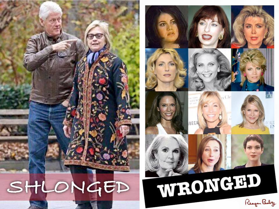 Hillary Shlonged and Wronged