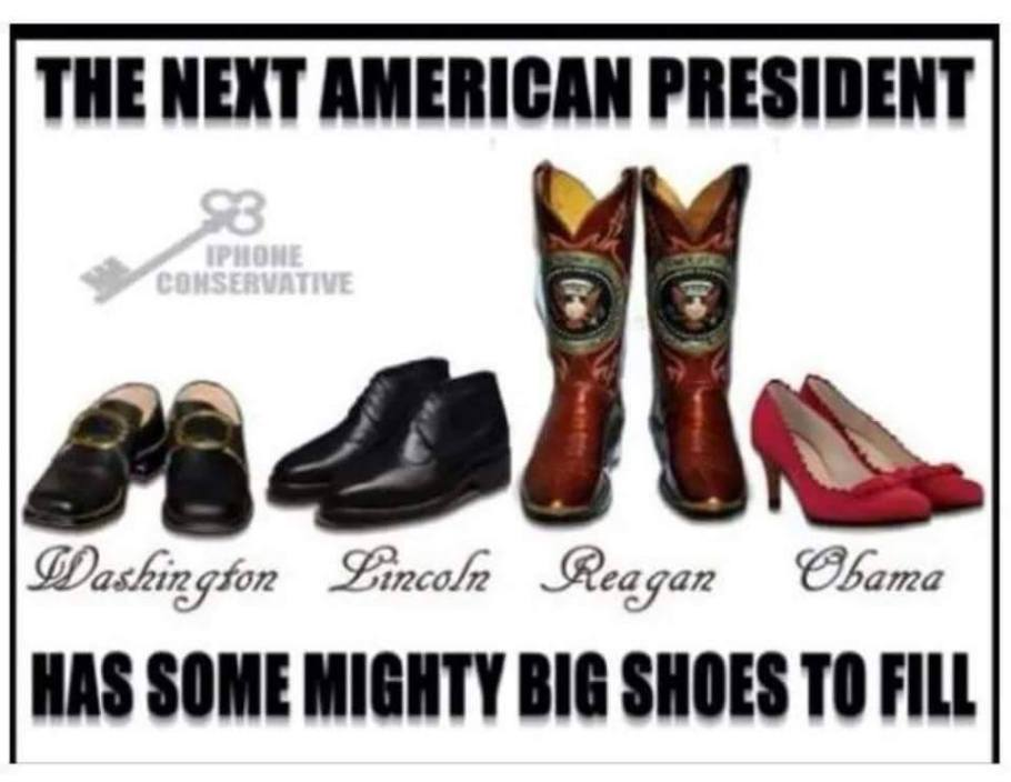 Presidency Big Shoes To Fill